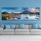 DYC 10537 Tek Sprey Yağ Resimlerinde Fotoğrafçılık Nehir Manzara Ev Dekorasyon Resimleri Duvar Sanatı