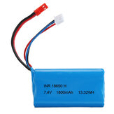 RBR / C 7.4V 1800MAH 10C 2S Lipo Batterie JST / SM Plug Pour RC Car Boat Vehicle Model Parts