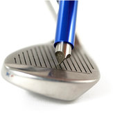 Golf Sharpener Wedge Iron Club Cleaner Cleaning Regrooving Tool U V Grooves with Case