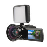 HDV-534KM 48MP 4K WIFI DV Digital Camera Night Version with LED Light Wide Angle Lens Microphone
