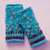 Gants en tricot décontractés
