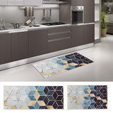 Non-Slip Waterproof Kitchen Door Mat Home Floor Rug Carpet Anti-Oil Easy Clean