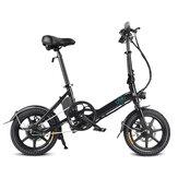 [EU Direct] FIIDO D3 36V 250W 5.2Ah Vélomoteur pliant 14 pouces Vélo 25km / h Max 35KM Mini Vélo Électrique
