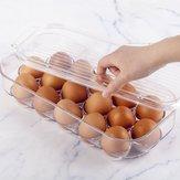 16 сетки ПЭТ свежие яйца для хранения Коробка держатель Чехол холодильник пищевой контейнер