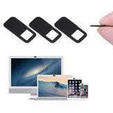 Bakeey 1PC quadratisches Muster Anti-Hacker Peeping Plastik Notebook PC Tablet Telefon Objektiv Schutz Schiebeschild Datenschutz Schutz Webcam Abdeckung
