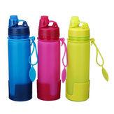 500ML Foldable Hydration Silicone Water Bottle SoftKettle