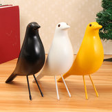 11'' Bird Desk Ornament House Resin Pigeon Gift Office Home Window Table Decorations