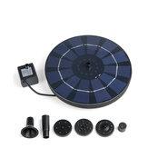 300L / H Solar Güç Kuş Banyosu çeşmesi Yüzer Gölet Su Pompa Kuş Besleyici