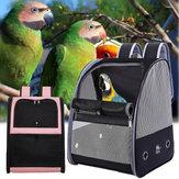 Bird Parrot Carrier Breathable Travel Cage Carrying Backpack Pet Shoulder Bag