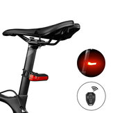 XANES® TL33 Indicator Turn Signal Light Wireless Remote Tail Light USB Rechargeable IPX4 Waterproof 6 Modes Cycling Warning Rear Lamp