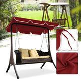 Couverture supérieure imperméable de meubles extérieurs de jardin de patio de remplacement d'auvent de couverture de balançoire
