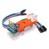 Programmer Module Test Tool PCB-testarmatuur 1x6P Vergulde sonde Uploadcode voor Pro Mini OPEN-SMART voor Arduino - producten die werken met officiële Arduino-boards