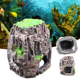 Aquarium Fish Tank Ornement Rockery Hiding Cave Landscape Underwater