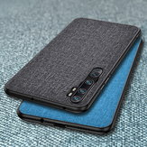 Bakeey Luxe Katoenen Doek Schokbestendige Beschermhoes voor Xiaomi Mi Note 10 / Xiaomi Mi Note 10 Pro / Xiaomi Mi CC9 Pro Niet-origineel