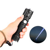 XANES P50 XHP50 3-5Modes Telescopic USB Rechargeable Flashlight LED With 18650 Battery Flashlight Suit