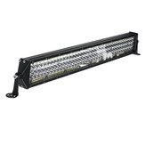 22Inch 80W 3-Row 136LEDs Work Light Bar Driving Fog Lamp For Off Road Pickup ATV