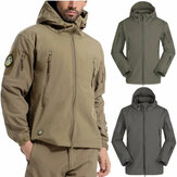 Waterproof Men Tactical Winter Coat Cargo Soft Shell Military Jacket Windbreaker