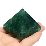 Cristalli di piramide di fluorite naturale Guarigione Display Decorazioni con pietre di quarzo