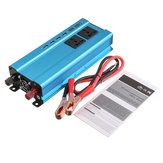 5000W 4 USB 3 Socket Car Converter Power Inverter DC 12V 24V To AC 220V Invertor