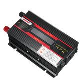 3000 W HS-LCD Inwerter DC12 / 24V do AC110V / 220V Zmodyfikowany sinusoidalny konwerter samochodowy USB Wyświetlacz Moc falownika