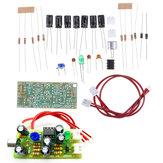 Микрофон звукосниматель Аудиомикрофон Усилитель Модуль DIY Набор Двухканальный выходной сигнал Регулируемое усиление постоянного тока 12