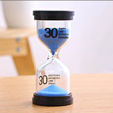 15 Minutes Sandglass Hourglass Kitchen Timer Clock Children Learning Timer Table Decor