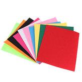 30x30cm Colorful Tela de fieltro no tejida para coser artesanía de arte Patchwork DIY