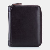 RFID Protection Men Women Card Holder Zipper Purse Wallet