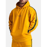 Men's New Pullover Hooded Sweater Outdoor Running Casual Clo