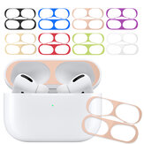 Bakeey Ultra Thin Dust-proof Earphone Storage Case Metal Protective Film Sticker Dust Guard for Apple Airpods 3rd Generation