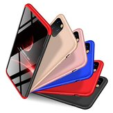 Bakeey 3 in 1 Double Dip Frosted 360° Full Body PC Full Protective Case for iPhone 11 Pro Max 6.5 inch