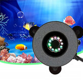 12 LED Submersible Aquarium Bubble Light Air Stone Fish Tank Pump Lamp Remote Control