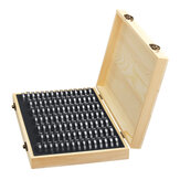 100PCS Rugged Wooden Commemorative Coin Display Case Capsule Holder Storage Collection Box