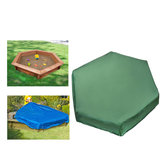 3 Sizes Hexagon Oxford Sandbox Sandpit Cover Furniture Dustproof Waterproof Outdoor Case
