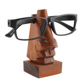 Wooden Nose Shaped Sunglasses Spectacles Eye Glasses