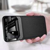 For Samsung Galaxy S20 Ultra Bakeey Luxury Business PU Leather Mirror Glass Shockproof Protective Case