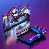 Rock Space I5片側ワイヤレスBluetoothゲーミングハンドルジョイスティックゲームパッド4.7〜6.5インチに最適iPhone 8Plus XS 11 Pro Huawei P30 Pro Mate 30 5G S10 + Note 10 5G