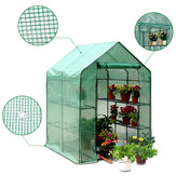 Roof Garden Greenhouse PVC Cover Duurzame House Flower Plant Warm Shelf Shed Planting Grow Box
