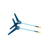 2 db Matek Systems ANT-Y1240 1,2 GHz-es 1,3 GHz-es 3dBi DIPOLE FPV antenna RC drón repülőgép védőszemüveg monitor adó adó vevőhöz