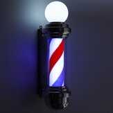 "Kapper 22 ""roterende LED-strepen Pole Light Hair Salon"