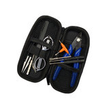 V3 Vape Ceramic Tweezers Heat Wire Pliers Tool Bag Atomizer Coil Jig Portable Toolkit