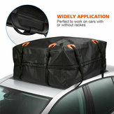 Universal Waterproof Car Roof Top Rack Bag Cargo Carrier Luggage Bag Basket Bag 4WD
