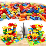 200Pcs/Set Maze Ball Track Building Blocks ABS Funnel Slide Assemble Bricks Blocks Toys