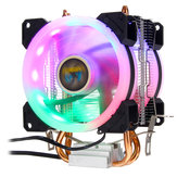 Aurora CPU Cooler RGB Cooling Fan 4Pin For Intel LGA 775 1150 1151 1155 1156 1366 AMD