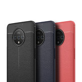 For OnePlus 7T Case Bakeey Luxury Litchi Pattern Shockproof PU Leather Protective Case