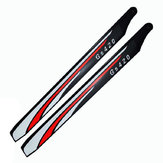 GS420 3K Carbon Fiber 420mm Main Blade For ALZRC 420 RC Helicopter