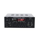 KS-33BT 2x450W Bluetooth Stereo LED Digitaler Audioverstärker HiFi USB-Speicherkarte Aux FM Radio Home