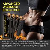 Подтягивающий крем для мышц брюшного пресса для похудения