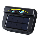 Energia Solar Portátil Mini Ar Condicionado Carro Auto Air Vent Cool Cool Conditioner