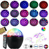 16 Color LED Stage Light bluetooth Speaker Disco Party Club Crystal Ball with Remote Controller